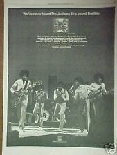 1974 Jackson 5 Record,Album Promo Photo Art Print Ad