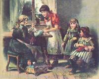 """Agnes Lucas German 9 & 11"""" Antique Doll  Patterns"""
