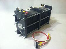 HHO DRY CELL 316L 62 PLATES - HYDROGEN GENERATOR - 3-7 LPM 120 VOLT AC!
