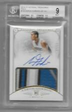 2014-15 Aaron Gordon National Treasures Rookie AUTO PATCH GOLD #D 17/25 BGS 9/10