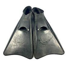 New listing Vintage Voit Skin Diver Scuba Gear Flippers Adult Size Medium/Large Rubber Black