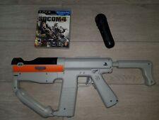 Sony PS3 Move Sharp Shooter Light Gun + Socom 4 Game + Move Motion Controller