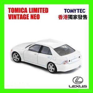 FEB 2021 LV-N Lexus IS200 TOMICA TOMY TAKARA 1/64 white HK Hong Kong Exclusive