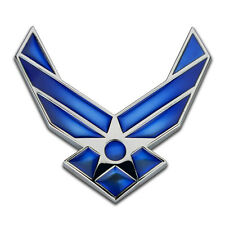 Car Emblem U.S.Air Force Metal Tuning Auto Motorcycle Sticker Decal Badge
