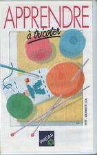 Cassette Vidéo : Apprendre à Tricoter - Phildar - TRICOT - Sommaire Dedans