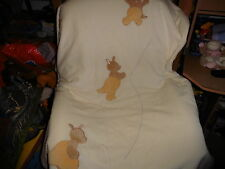 couverture  noukies serie et    pour petit   lit cage