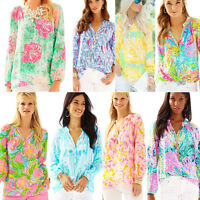 NWT Authentic Lilly Pulitzer Elsa Top Silk XS,S,M,L,XL