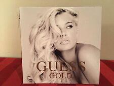 GUESS GOLD Eau de Parfum .05fl.oz/1.52ml SAMPLE New & CARDED