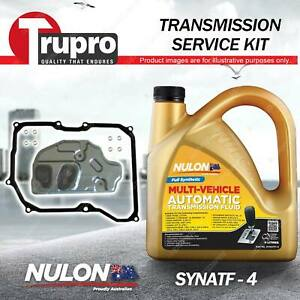 SYNATF Transmission Oil + Filter Service Kit for Volkswagen Golf V GTI Jetta FSI
