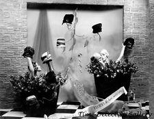 Window Display of Women's Hats - c1920s-1930s - Historic Photo Print