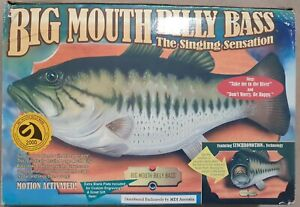 Big Mouth Billy Bass - Moiton Activated Singing Sensation