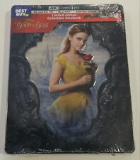 New Beauty & the Beast 2017 4K UHD/Blu-ray/Digital Steelbook™ Bestbuy Exclusive