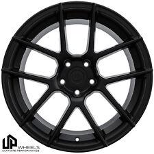 UP520 19x8.5/9.5 5x112 Matte Black ET35/40 Wheels Fits mb w203 w208 w209 w210