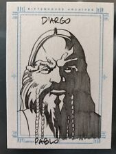 FARSCAPE D'ARGO SKETCH CARD BY PABLO SKETCHAFEX