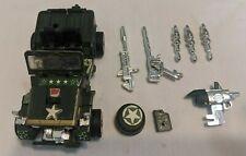 Takara Transformers Hound Autobot Army Jeep G1 Figure w/ Accessories