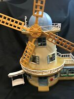 Calico Critters Sylvanian Families Vintage Field View Windmill Rare HTF Flair