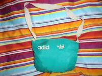 vintage 80s Adidas Regenjacke Nylon Jacke shiny oldschool glanz 80er Jahre M