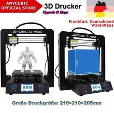 """DE STOCK Anycubic i3 Mega 3D Drucker Alle Metallrahmen 3.5"""" TFT Große Druckgröße"""