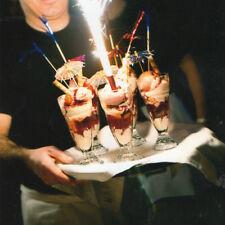 Set Of 6 Tall Ice Cream Sundae Glasses Fotted Dessert Knickerbocker Glory Dishes