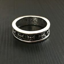 Chrome Hearts STYLE Cross Band Ring