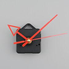 Silent Clock Quartz Movement Mechanism Red Arrow Hand Part Repair Kit