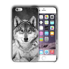 Animals Wolf Iphone 4s 5 5s 5c SE 6 6S 7 8 X XS Max XR 11 Pro Plus Case Cover 01