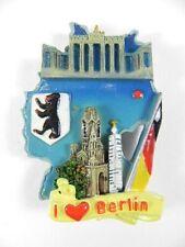 Magnet Berlin Deutschland,Poly 3D Relief Souvenir,neu