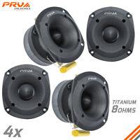 """4x PRV Audio TW350Ti Bullet 3"""" Pro Super Tweeter 8 Ohm Titanium Car Audio 480W"""
