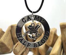 Percy Jackson CAMP HALF BLOOD - Necklace Pendant - UK Stock