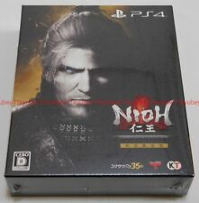 New PS4 Nioh Complete Edition w/mini Soundtrack CD Booklet Japan KTGS-40404