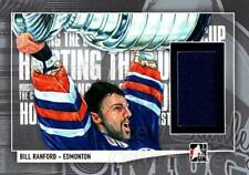 2013-14 ITG Lord Stanley's Mug Hoisting the Cup Jerseys #17 Bill Ranford