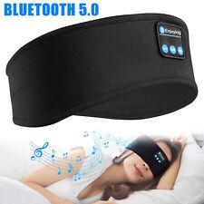 Bluetooth 5.0 Sports Headband Wireless Stereo Headphones Run Sleep Music Headset