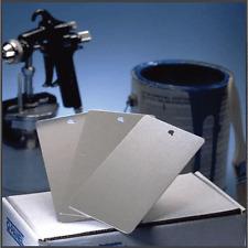 Powder Coating Sample Panels - Blank Aluminum Ready to Coat Panels! 2  x3.5 inch