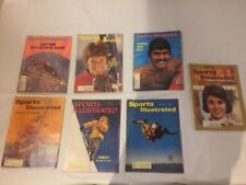 VINTAGE SPORTS ILLUSTRATED MAGAZINES LOT OF 7 ADVENTURE SPORTS SWIMMING SKI SKY