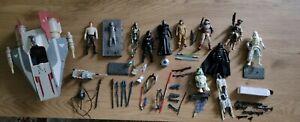 Lot Star wars Figurines et Accessoirs