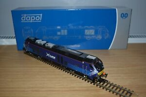 """DAPOL OO GAUGE CLASS 68 NO. 68006 """"DARING"""" IN SCOTRAIL LIVERY, DCC READY."""
