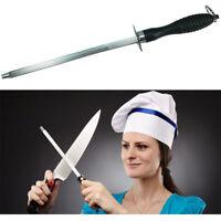 AbbyNi Universale Blocco coltelli Forma Rotonda Acciaio Inossidabile Portacoltelli con Slot per Forbici Asta per affilare,Senza coltelli