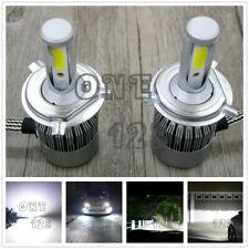 H4 9003 HB2 CREE LED Headlights Bulb Kit High Low Beam 6000K White Plug And Play