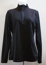 Cascade Sport Performance Warm Systems Speed Dri Black 1/4 Zip Athletic Jacket L