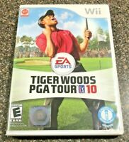 Tiger Woods PGA Tour 10 (Nintendo Wii Game) Clean & Tested Working - Free Ship