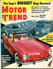 Motor Trend Magazine May 1956 The Growing Volkswagen Family VGEX 122215jhe