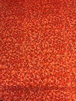 Bitmap Red Pixel Michael Miller Fabric FQ 50cm x 56cm or More 100% Cotton Boys