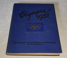 Olympia 1932 Die Olympischen Spiele in Los Angeles 1932 komplett Reemtsma