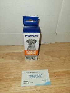 ProSense DEWORMER SOLUTION 4oz liquid Roundworm Treatment Dogs&Puppies