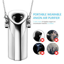 Necklace Portable Air Purifier Personal Anion Wearable USB Negative Ionizer Mini
