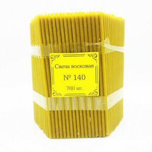Candles bees wax packaging Prayer orthodox church Nice smell  #60-140,300-700pcs