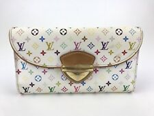 Authentic Louis Vuitton French Multicolour Eugenie Long Wallet