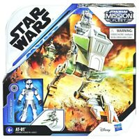 "Star Wars Mission Fleet CAPTAIN REX 2.75"" Action Figure w AT-RT Hasbro E9681"