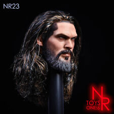 "NRTOYS 1/6 NR23 Aquaman Head Sculpt Carved Planted Hair Model For 12"" Male Body"