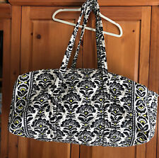 Vera Bradley XL Duffle Bag In The Retired Fanfare  Pattern